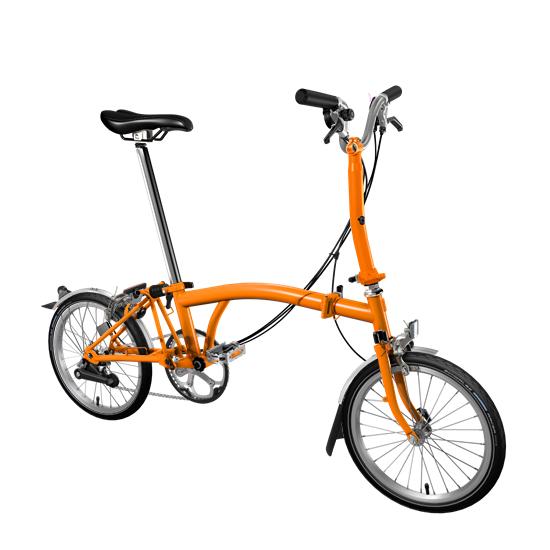 Brompton M3L Orange
