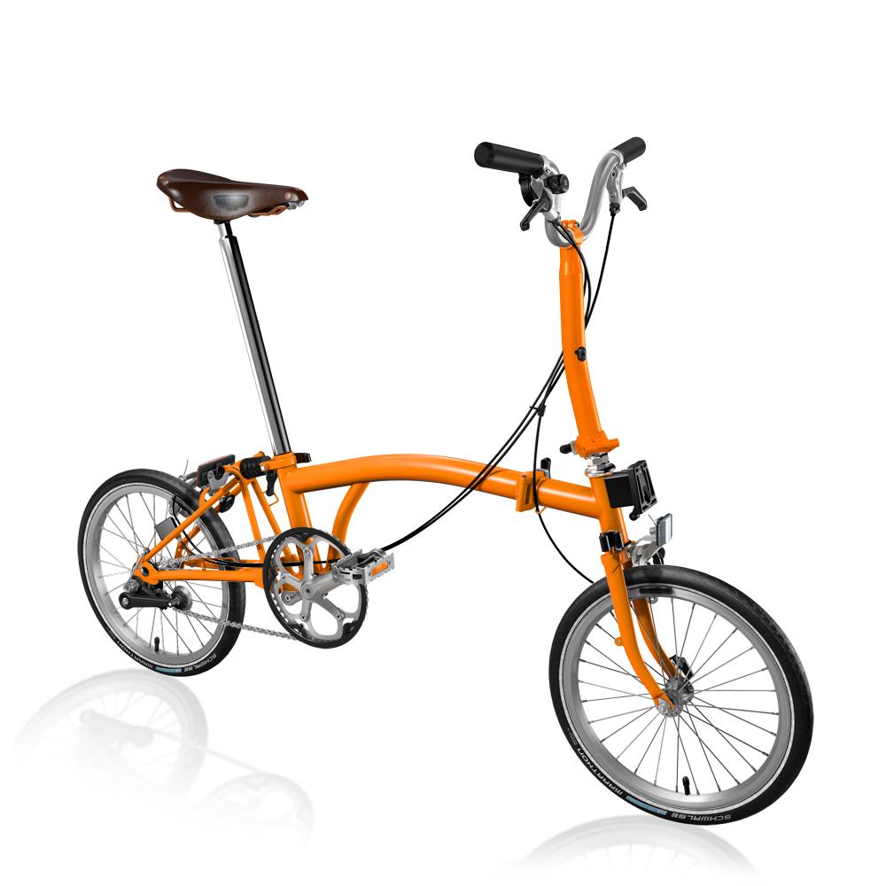 Brompton M3E Orange